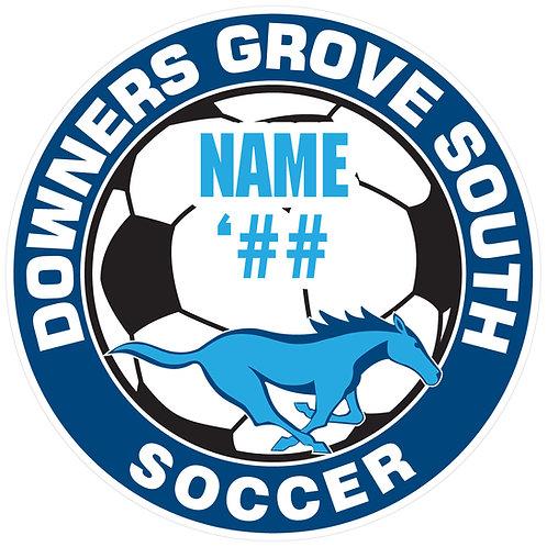 DGS Soccer Sticker