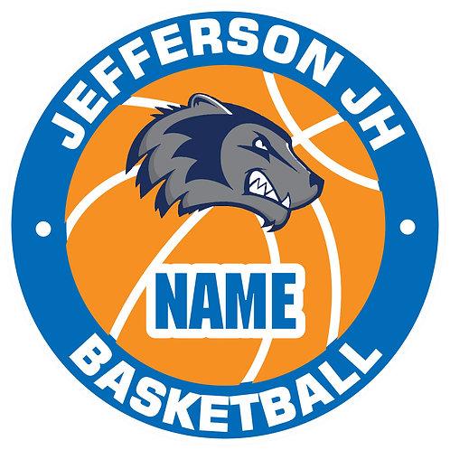 Jefferson Basketball Yard Sign
