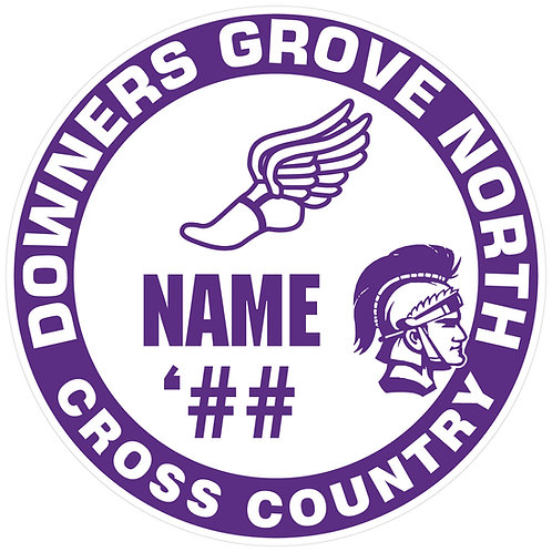 DGN Cross Country Sticker