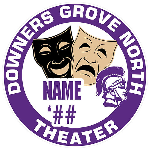 DGN Theater Sticker
