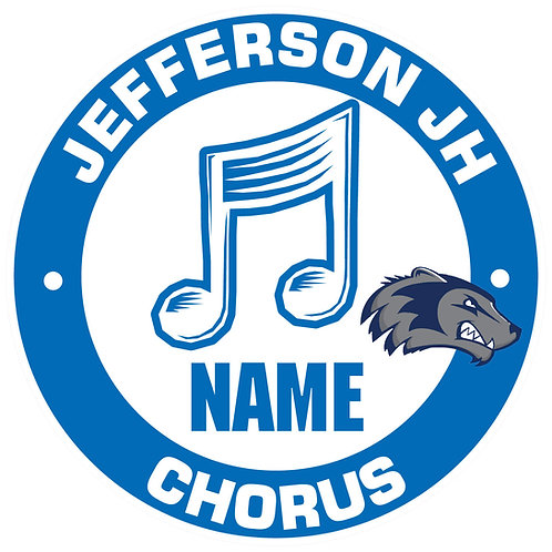 Jefferson Chorus Yard Sign