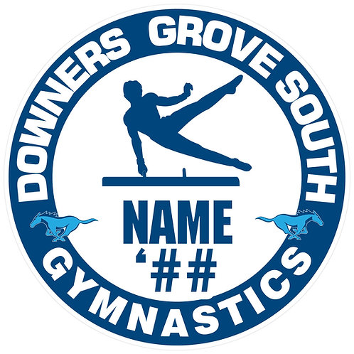 DGS Men's Gymnastics Sticker