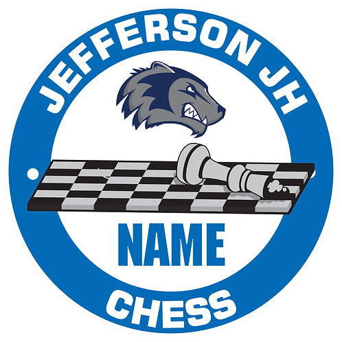 Jefferson Chess Yard Sign