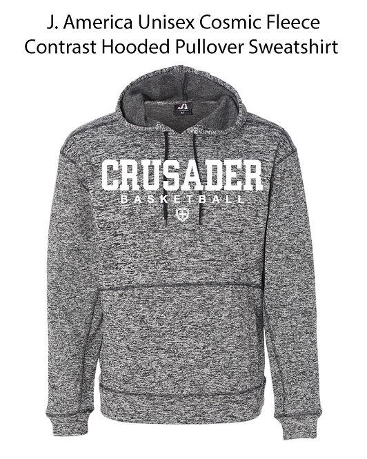 SJS Heathered Basketball Sweatshirt