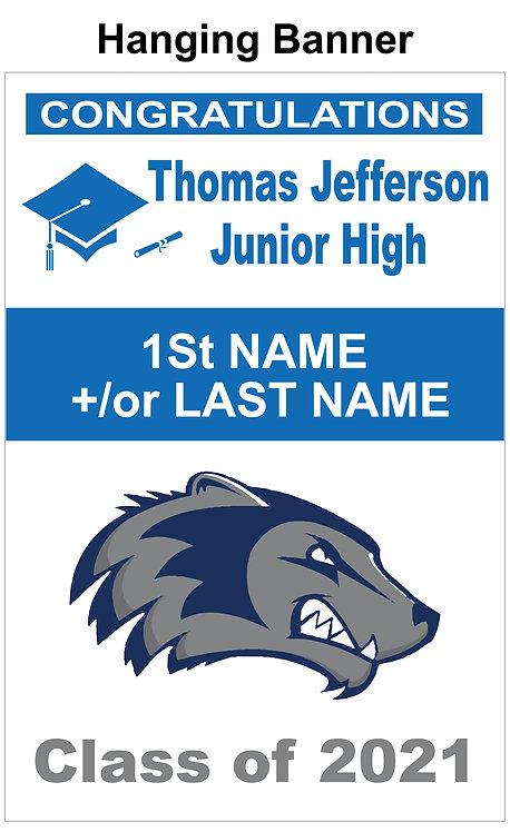 Jefferson Graduation Banner