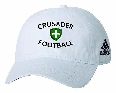 SJS Adidas Football Hat - White