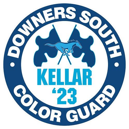 DGS Color Guard Yard Sign