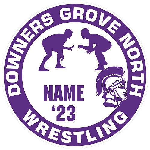 DGN Wrestling Yard Sign