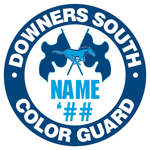 DGS Color Guard Sticker