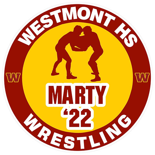 WHS Wrestling Yard Sign