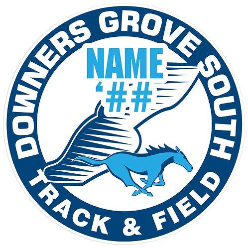 DGS Track & Field Sticker