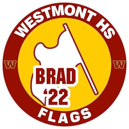 WHS Flags Yard Sign