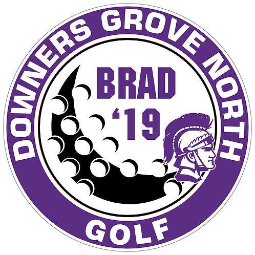 DGN Golf Yard Sign