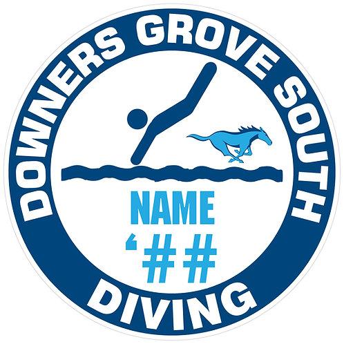 DGS Diving Yard Sign