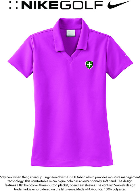 SJS Nike Shield Women's Polo - Pink