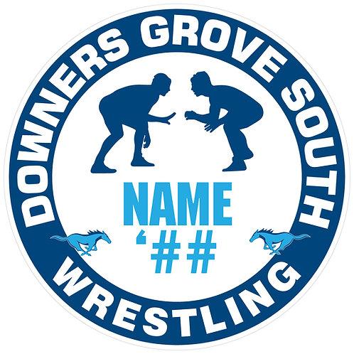 DGS Wrestling Sticker