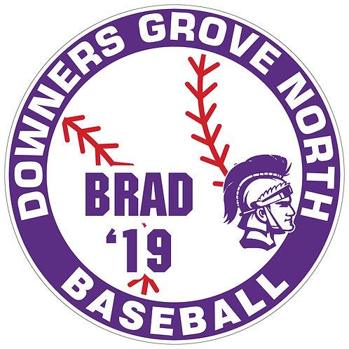 DGN Baseball Yard Sign