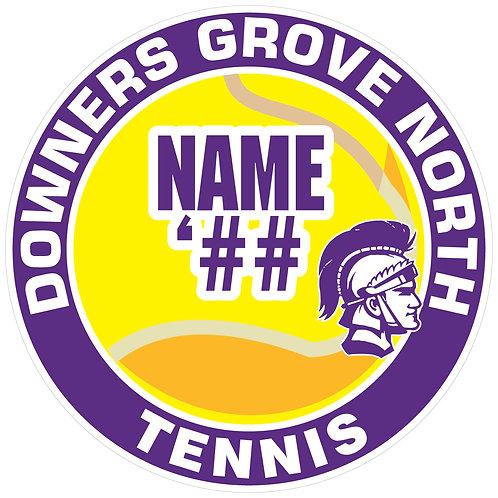 DGN Tennis Sticker
