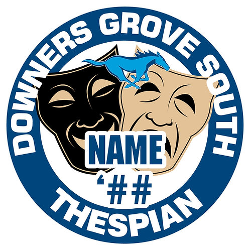 DGS Thespian Sticker