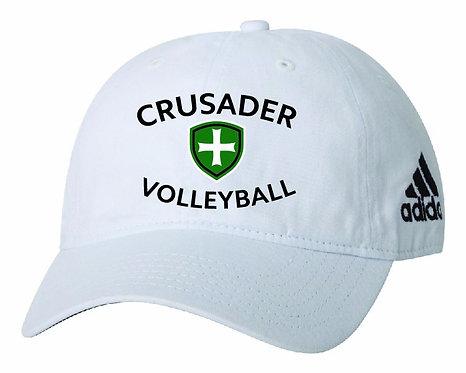 SJS Adidas Volleyball Hat - White