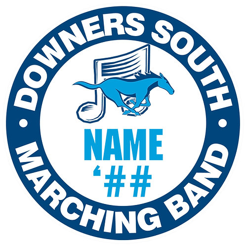DGS Marching Band Sticker