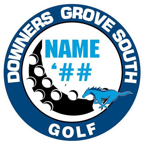 DGS Golf Sticker