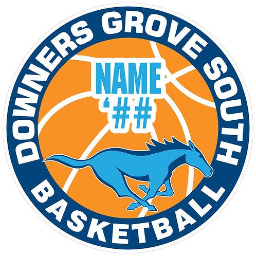 DGS Basketball Sticker