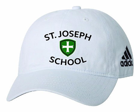 SJS Adidas School Hat - White