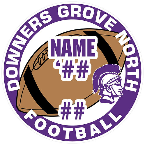 DGN Football Yard Sign