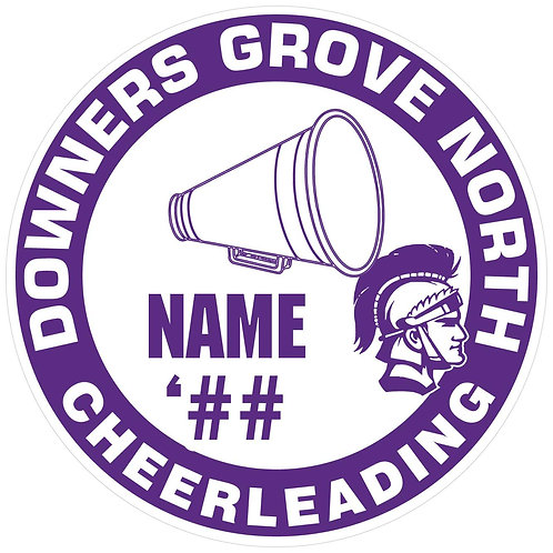 DGN Cheerleading Sticker