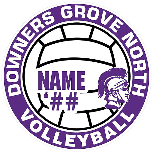 DGN Volleyball Sticker