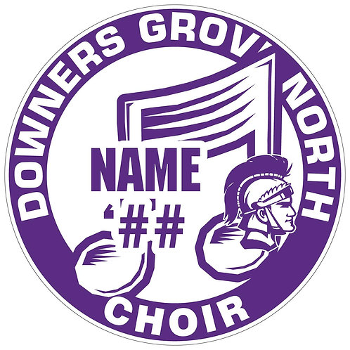 DGN Choir Sticker