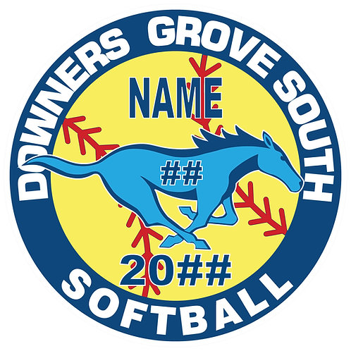 DGS Softball Sticker