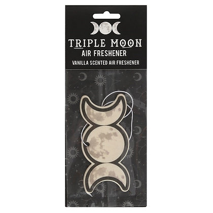 Triple Moon Vanilla Scented Air Freshener