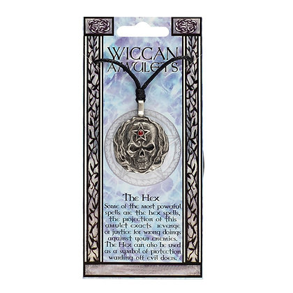 The Hex Wiccan Amulet Necklace