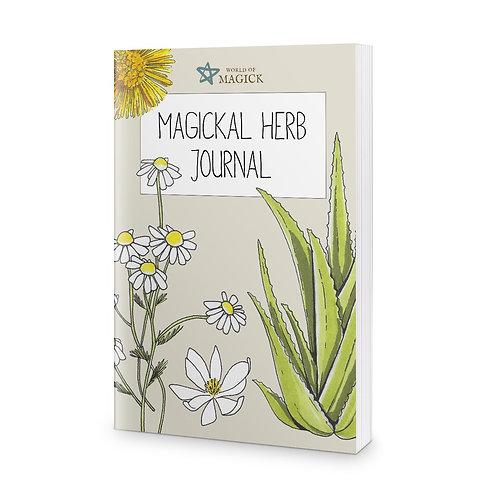 Magickal Herb Journal