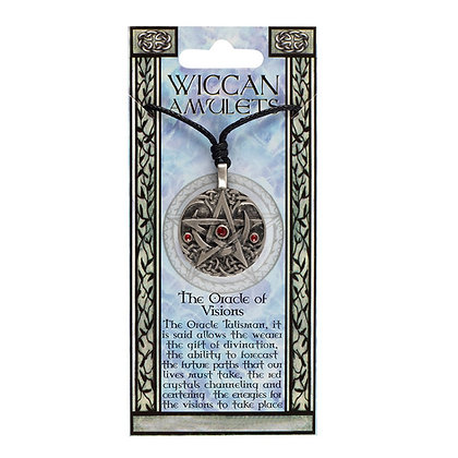 Oracle of Visions wiccan amulet necklace