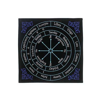 Embroidered Astrology Pendulum Mat