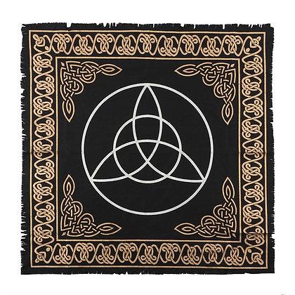 65 x 65cm Triquetra Altar Cloth