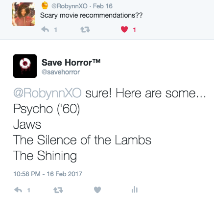 Save Horror
