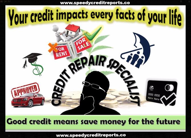 Credit score really matters