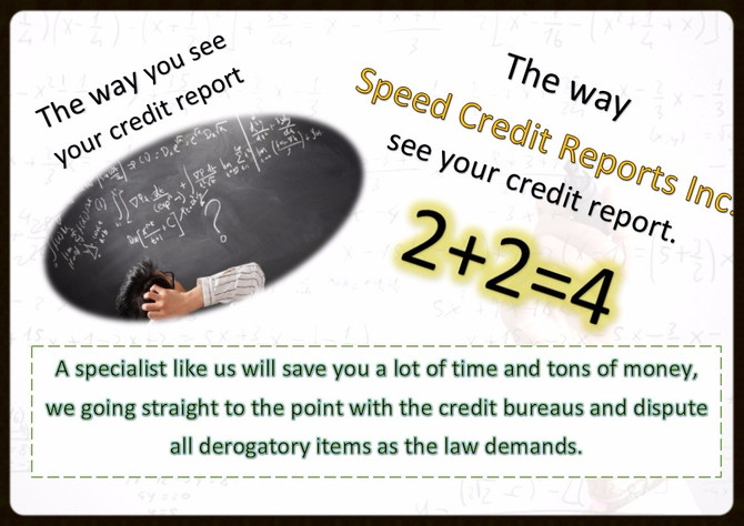 Credit repair specialists at your service.