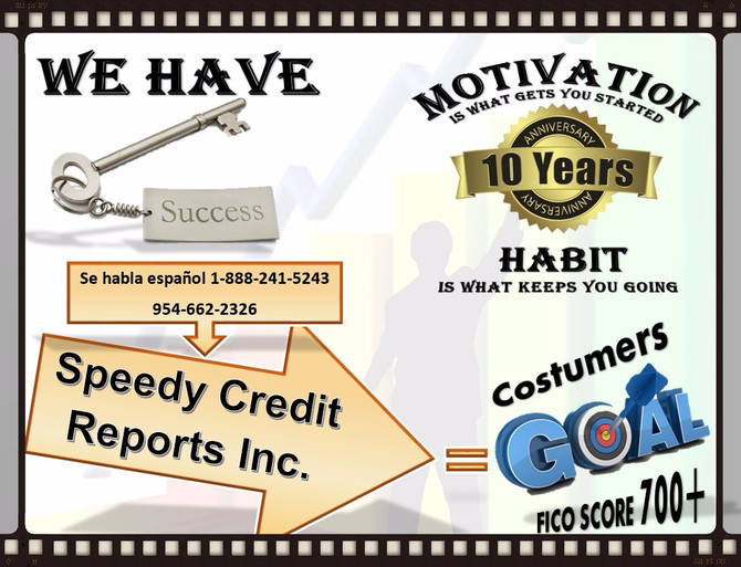WE CAN GUIDE YOU TO THE RIGHT PROCCES TO FIX YOUR CREDIT MATTERS.