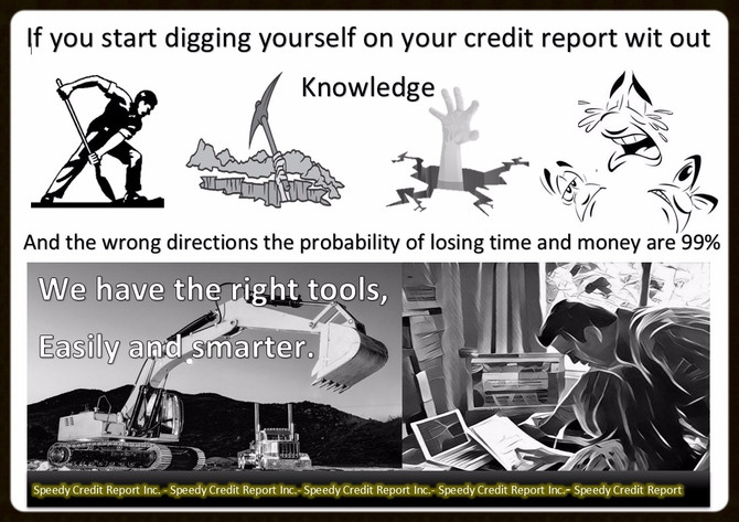 Use the right tools to fix your credit