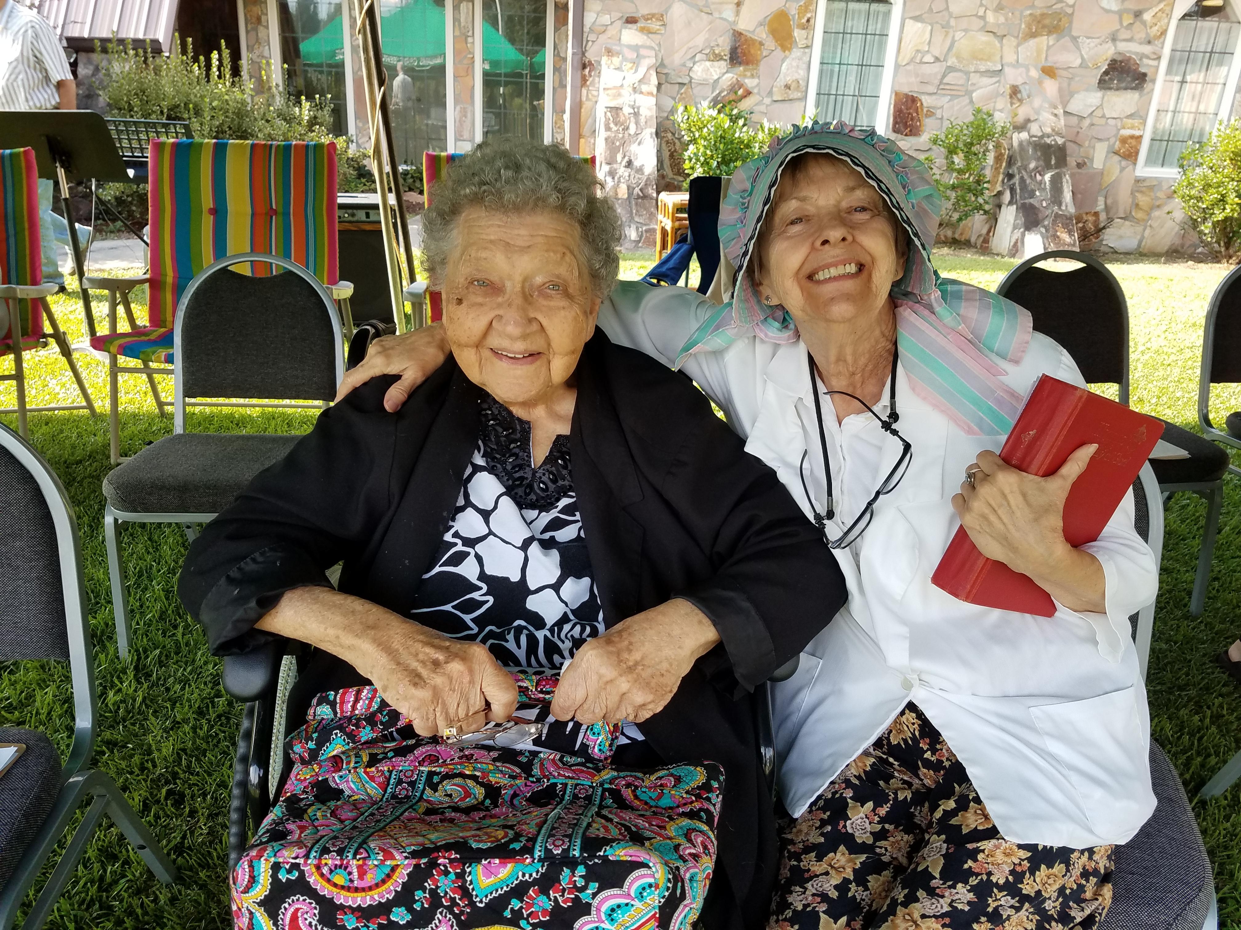 Alberta and Mrs. Judy