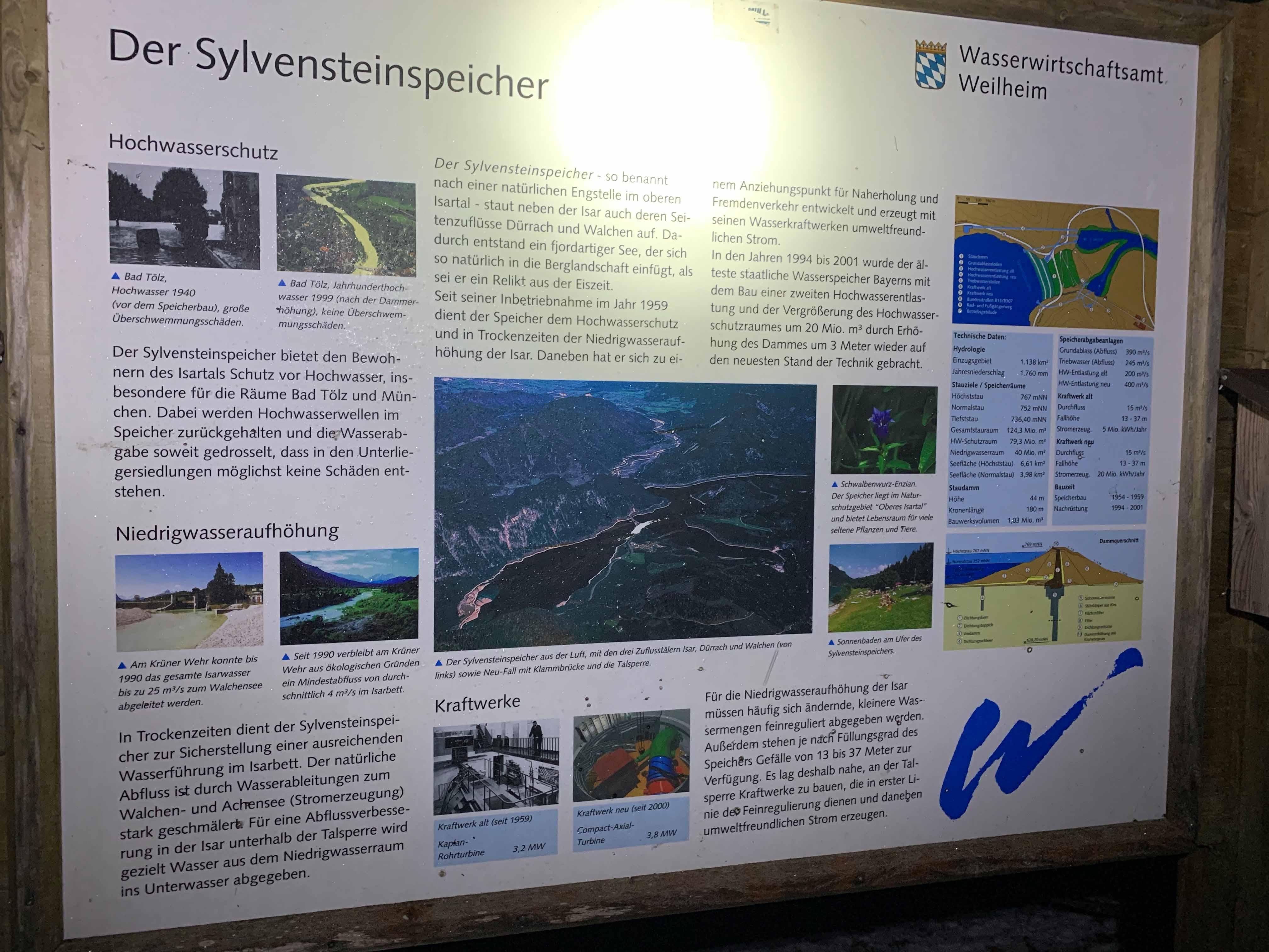 24h Wohnmobilstellplatz Sylvensteinspeic