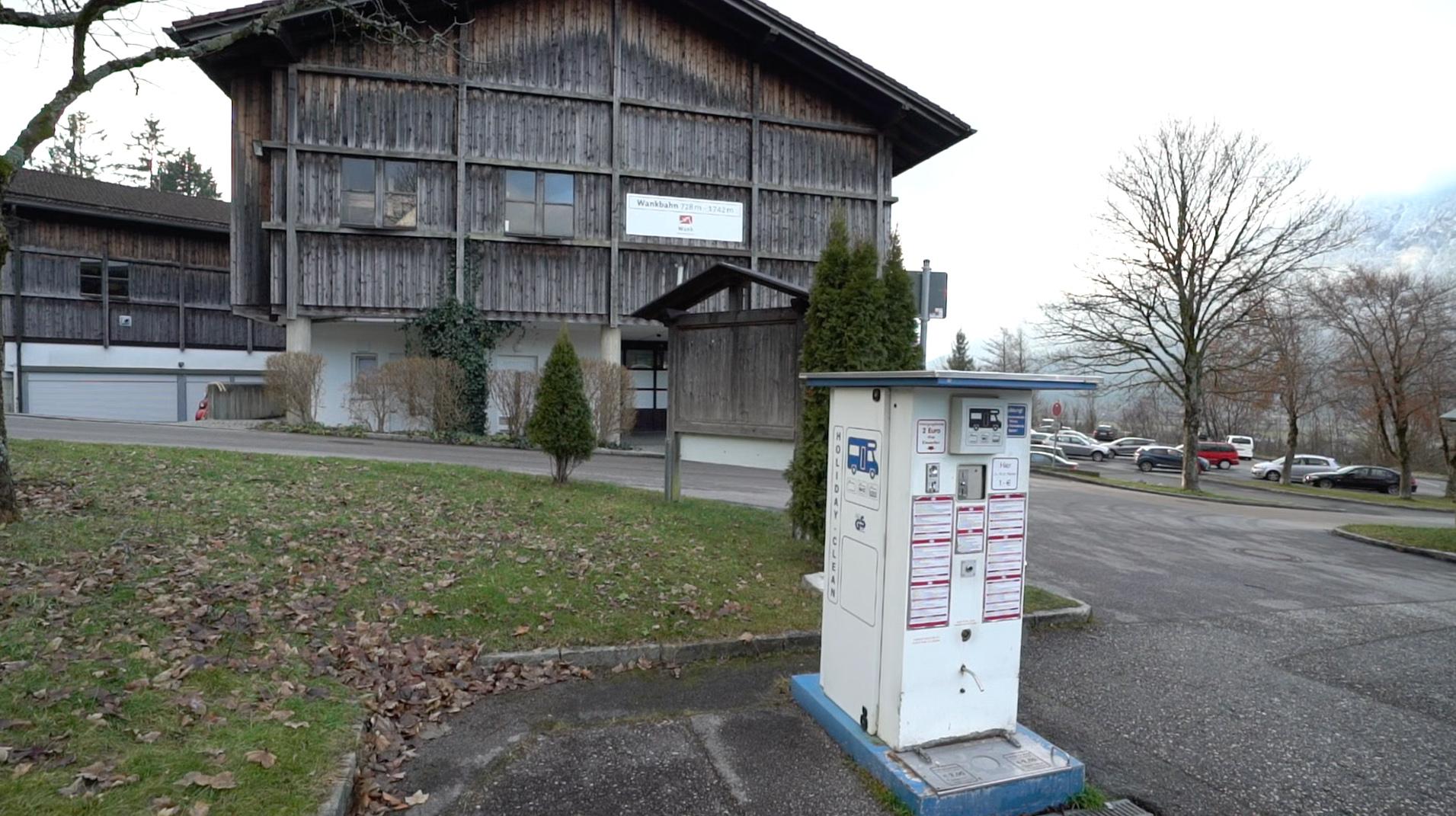Wohnmobilstellplatz Garmisch Partenkirch