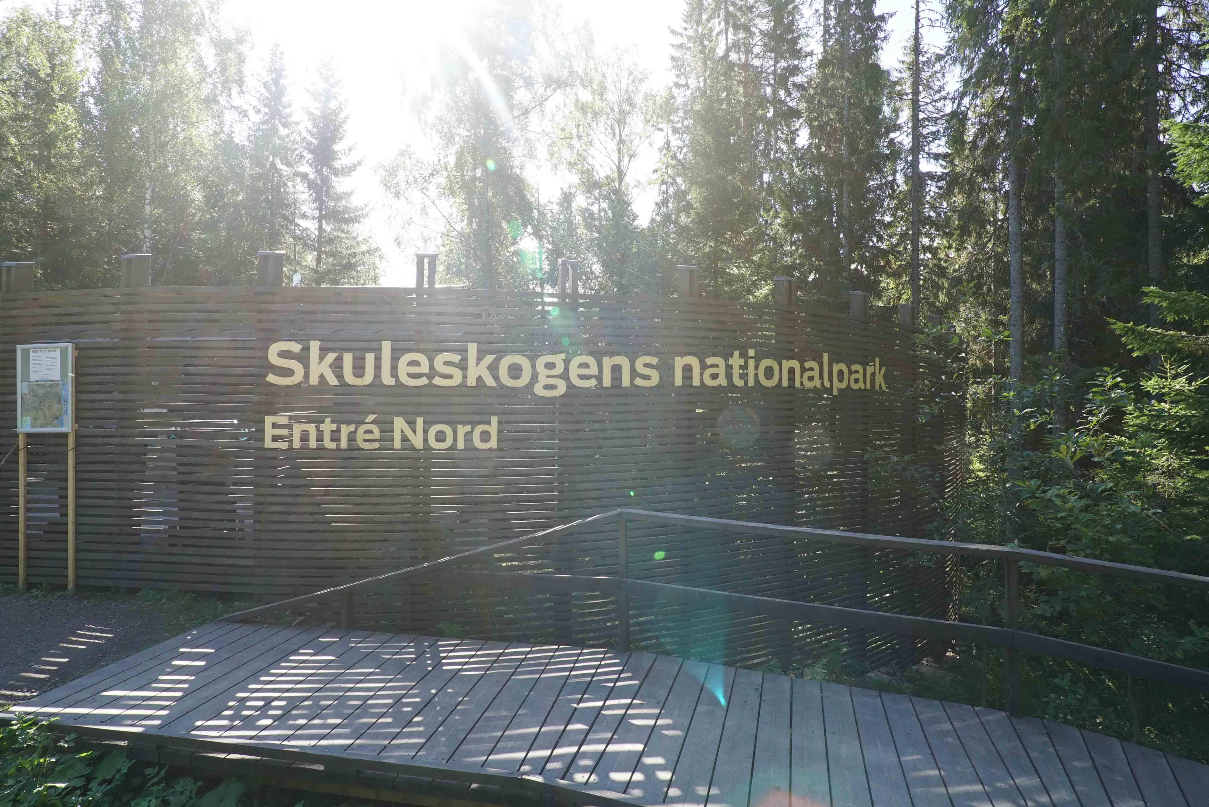 Skuleskogen EIngang Nord04