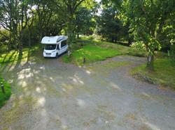 Caerlaverock Stellplatz03