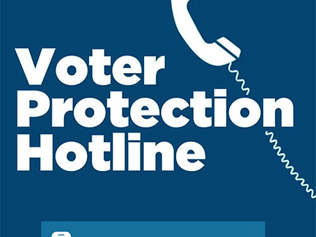 Our Voter Protection Team is WORKING!